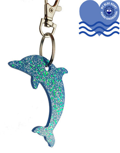 My Blue Heart Keyrings - Dolphin - 6 colours available