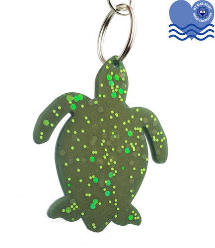 My Blue Heart Keyrings - Turtle - 7 colours available