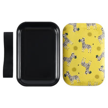 Load image into Gallery viewer, Ziggy Zebra Bamboo Lunch Box - My Green Heart
