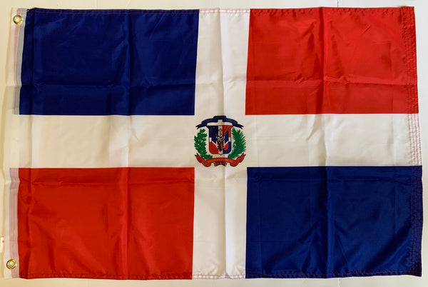 Dominican Republic Flag 2'X3' Rough Tex® 100D