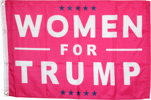Women For Trump - 2'X3' Feet 100D ROUGH TEX ®