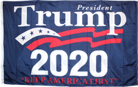 President Trump 2020 Keep America First  KAF Double Sided 3'X5' Rough Tex® 100D