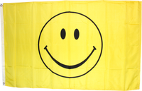 Smiley Face Flag 3'X5'- Rough Tex® 100D