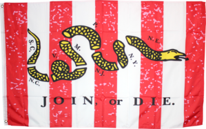 Sons Of Liberty (Don't Tread On Me) 3'X5' Flag ROUGH TEX® 100D