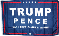 Trump Pence M A G A 45 3'X5' Rough Tex® 100D