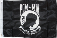 POW MIA The National League of Families Missing In Action-2'X3' Flag 100D Rough Tex®