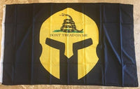 Gadsden Golden Warrior Don't Tread On Me Flag 2'X3' 100D Rough Tex®