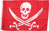 Calico Jack Red Flag Rough Tex ® 2'x3' 100D