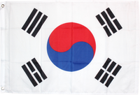 South Korea Flag 2'X3' Rough Tex® 100D
