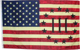 USA 3 Percent III% Vintage Nyberg  Flag- 3'X5' Rough Tex® 100D