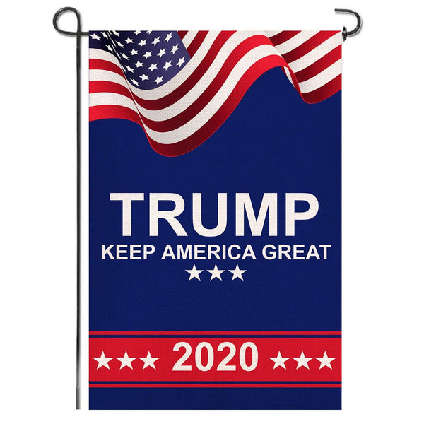"USA Trump 2020 Keep America Great KAG 12'X18"" Garden Flag Rough Tex® 100D"