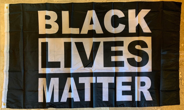 Black Lives Matter 3'X5' Single Sided Flag Rough Tex® 68D Nylon
