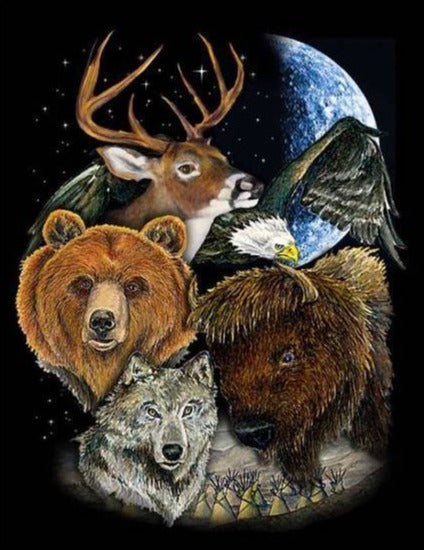 Wildlife Deluxe Polar Fleece Blanket