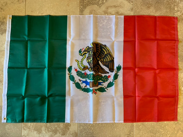 Mexico Flag 150D Rough Tex ® 3x5 Nylon