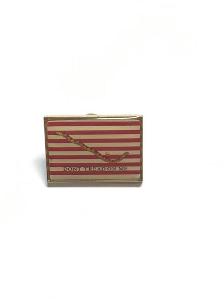 "1st Navy Jack ""Don't Tread On Me"" American Revolution Lapel Pin"