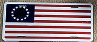 Betsy Ross License Plate