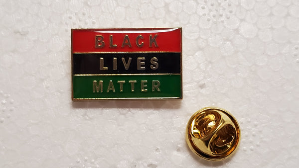 Black Lives Matter Pan African Cloisonné Hat & Lapel Pin