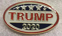 II Trump 2020 Cloisonne Hat & Lapel Pin