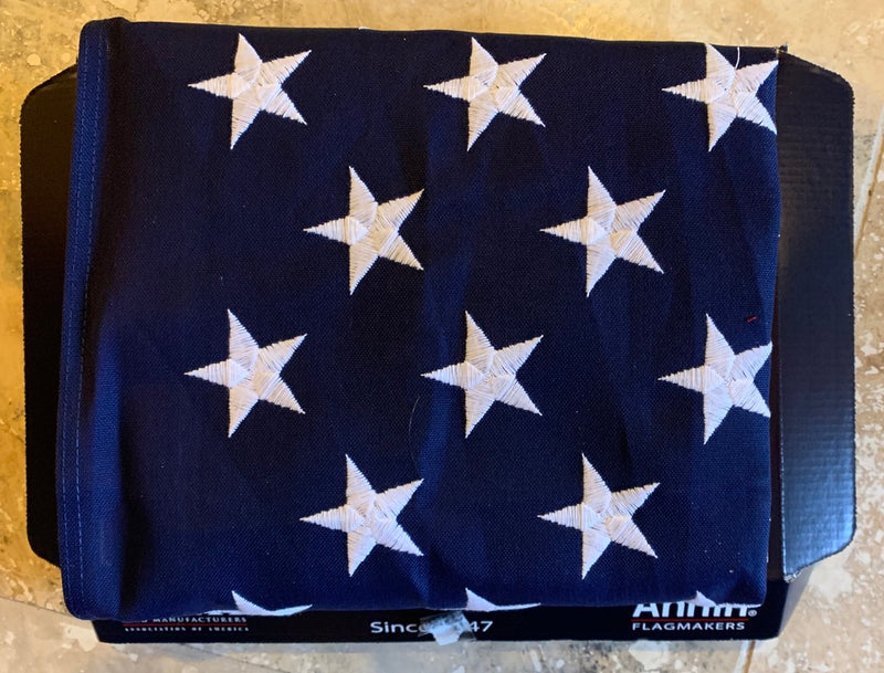 United States Flag 3'X5' Tough-Tex® 100% Two-Ply Polyester Annin Flagmakers®