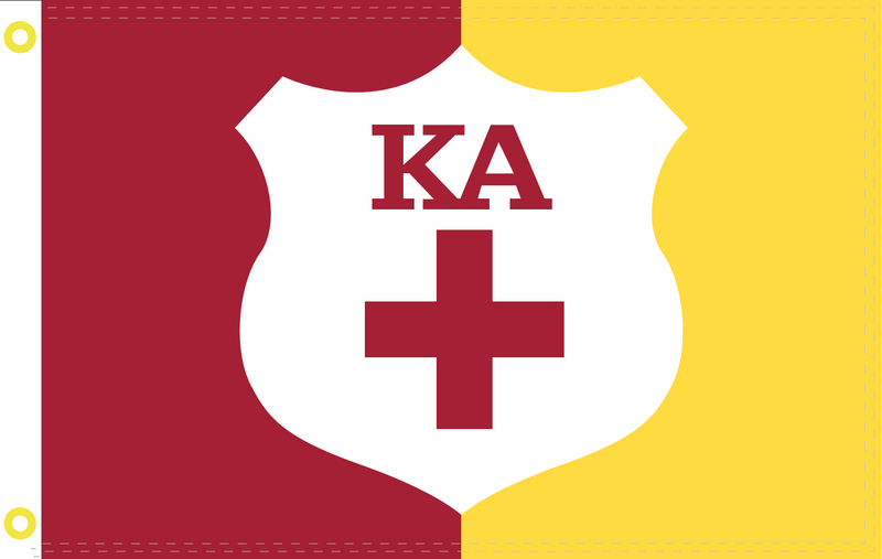 KAPPA ALPHA ORDER SUPPLEMENTAL KA FLAG 2'X3' Flag - 100D Rough Tex®