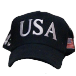 TRUMP USA Hat (Multiple Colors)