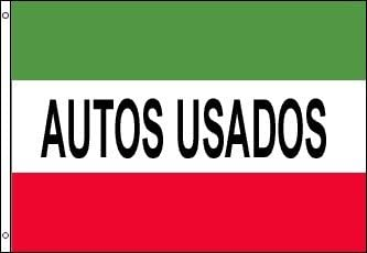 Autos Usados Business 3'x5' 100D Flag Rough Tex ®