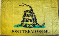 Gadsden Vintage Original Flag With Grommets 2x3 Feet Rough Tex® 100D