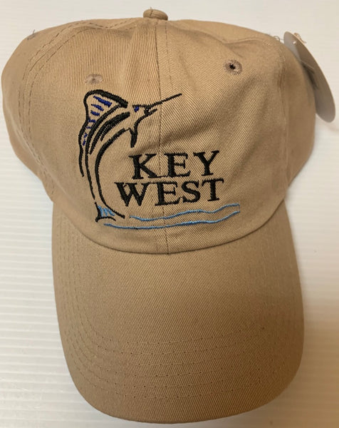Key West With Sanding Fish Khaki - Cap