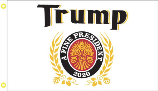 Trump A Fine President 3'X5' Flag Rough Tex® 100D