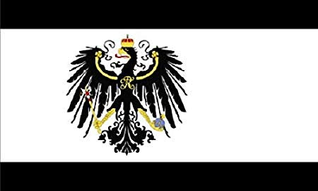 Kingdom Of Prussia  - 3'x5' Single Sided Flag Rough Tex® 68D