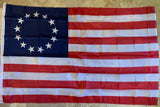 Betsy Ross Flag Original American 13 Stars USA Revolution 4x6 feet 100D Rough Tex ®