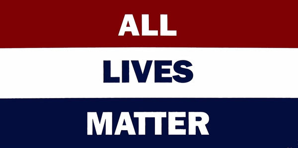 All Lives Matter - Bumper Sticker