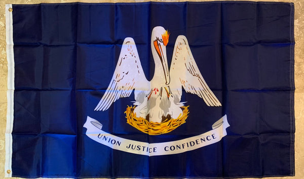 Louisiana Union Justice Confidence Flag Rough Tex ® 150D 3x5 Flags