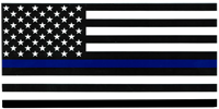 Police Memorial Bumper Sticker