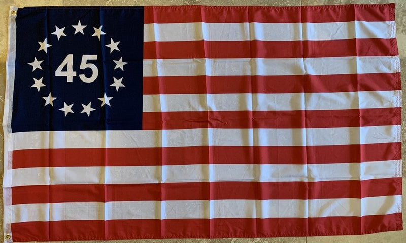 Betsy Ross 45 Flag 100D Rough Tex ® 3x5