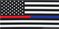 First Responders Memorial Bumper Sticker