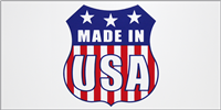 Made In USA Bumper Sticker - Shield