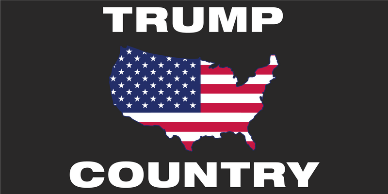 Trump Country -  Bumper Sticker