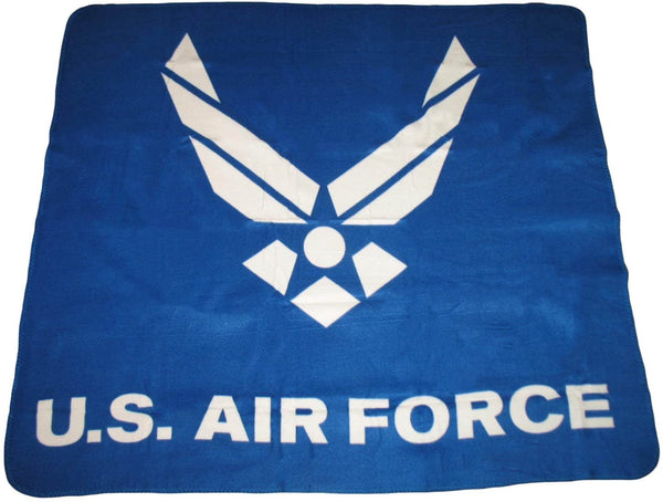 U.S. Air Force Emblem Deluxe Polar Fleece Blanket