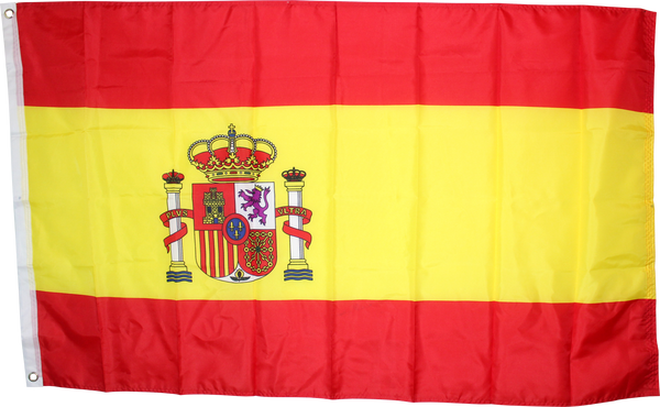 3'x5' Spain Flag Rough Tex® 75D
