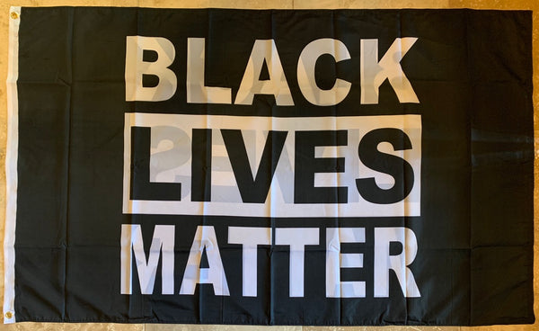 Black Lives Matter 3'X5' Double Sided Flag Rough Tex® 100D