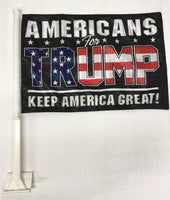 Americas For Trump Keep America Great KAG  - 11''X15.5'' Car Flag