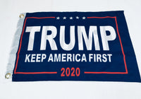 Trump Keep America First 2020 Double Sided Flag- 12''X18'' Rough Tex®
