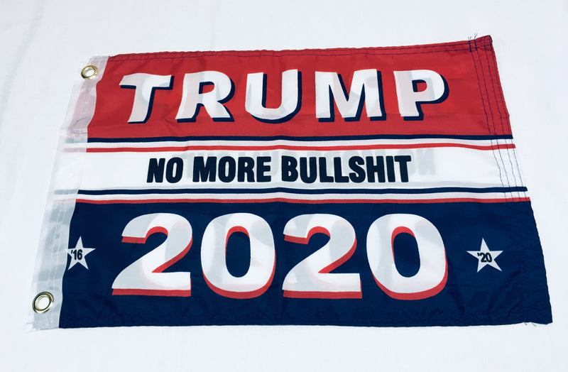Trump 2020 Keep America First Blue and Red Double Sided Flag- 12''X18'' Rough Tex®