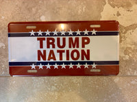 Trump Nation- License Plate
