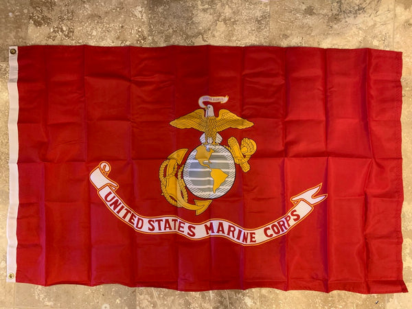 United States Marine Corps Flag 3'X5' Rough Tex® 100D
