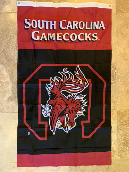 South Carolina Gamecocks USU Double-Sided Officially Licensed College Flag- USC® 3'X5'