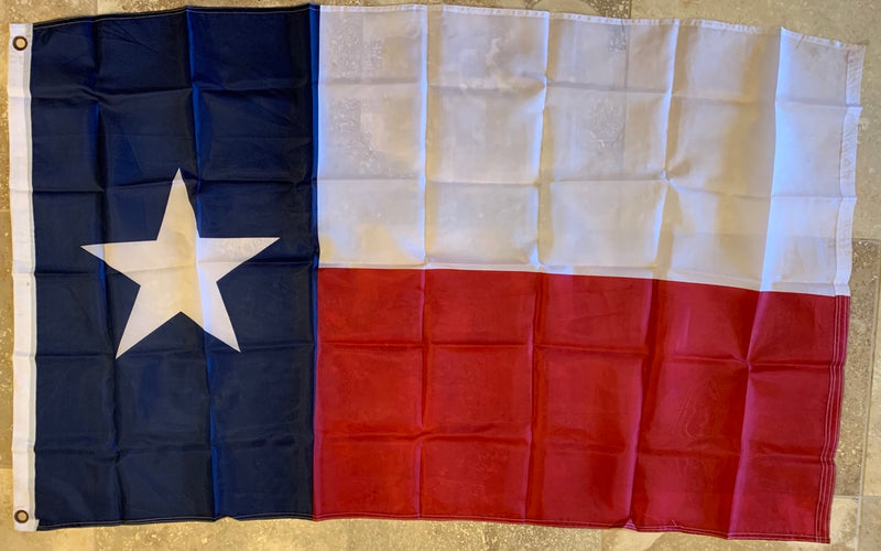 Texas Super Polyester 3'x5' Flag WIth Grommets
