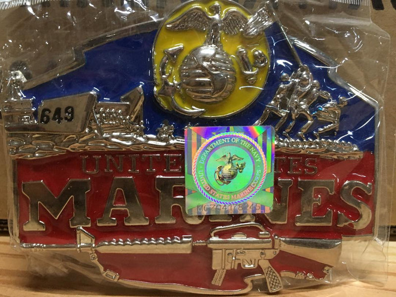 USMC BELT BUCKLE MARINES