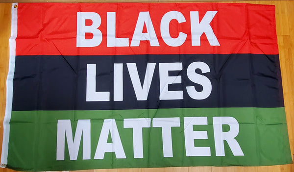 3X5 FLAG ROUGH TEX ® 100D Black Lives Matter African American Pan-African Official Flag